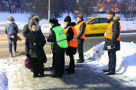Госавтоинспекция г.о. Красногорск и «Родительский патруль» на страже детской безопасности!