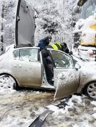 В ДТП на 63 км автодороги «Волоколамское шоссе» пострадали две пассажирки: 26 и 3 лет.