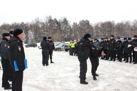 В УМВД России по г.о. Красногорск проведен инструктаж комплексных сил полиции.