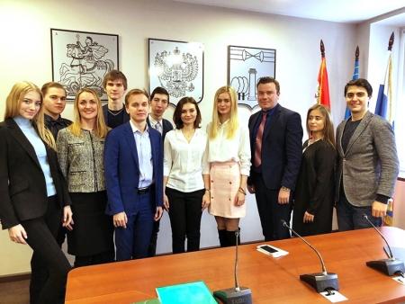 Сегодня Молодёжный парламент провёл своё второе официальное заседание!