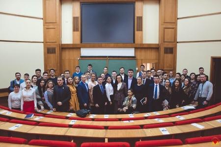 Молодёжный парламент го Красногорск встретился с Председателем Молодёжного парламента при Государственной Думе.