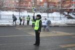 В Подмосковном Красногорске сотрудники Госавтоинспекции провели акцию «Пешеходный переход».