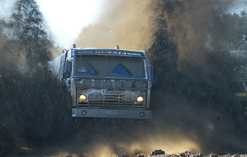 Строительный объект в Красногорске, как источник загрязнения дороги.