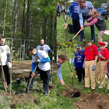 Госадмтехнадзор пополнил «Лес Победы» более чем на 7 тысяч саженцев!