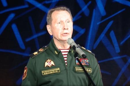 Родственники погибших сотрудников спецподразделений Московской области встретились с Директором Росгвардии генералом армии Виктором Золотовым.
