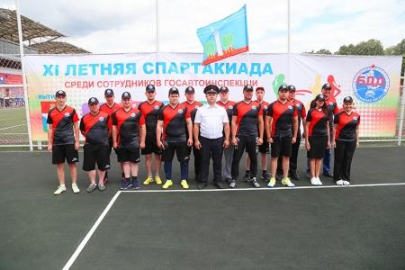 В Подмосковье состоялась спартакиада в честь 83-й годовщины образования службы ОРУД-ГАИ-ГИБДД.