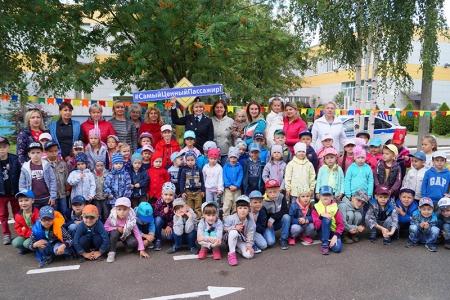 Подмосковные госавтоинспекторы провели с детьми занятие по правилам дорожного движения!