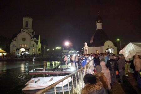 12 тысяч красногорцев приняли участие в праздновании Крещения!