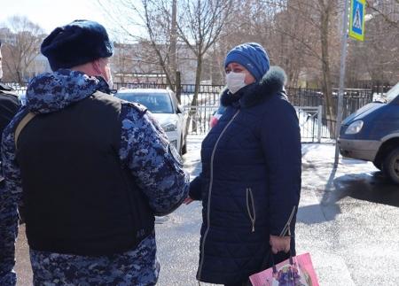 В Подмосковье для профилактической работы с гражданами увеличено количество патрулей Росгвардии!