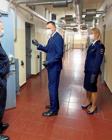 Представитель общественности проверил изолятор временного содержания в Красногорске!