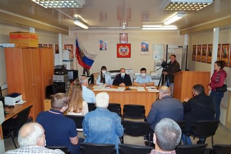 В Подмосковном Красногорске прошло мероприятие в формате «круглого – стола» направленное на стабилизацию аварийности на территории округа.