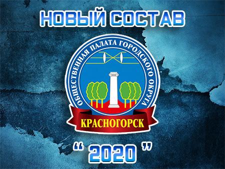 Состав Общественной палаты городского округа Красногорск 2020 года.