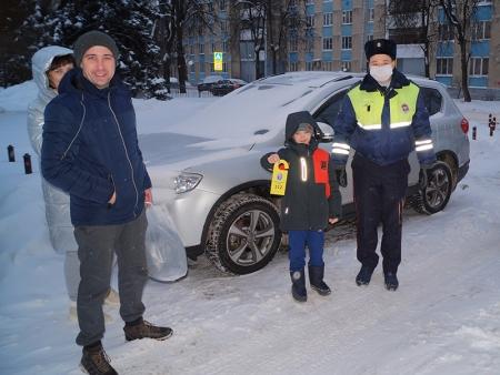 Дворхенгеры напомнили жителям городского округа Красногорск о дорожной безопасности.
