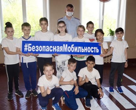 Подмосковная Госавтоинспекция проводит «Уроки безопасности» для школьников.
