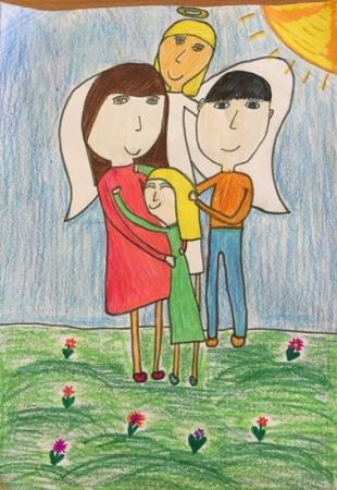 В Красногорске подвели итоги областного конкурса детских рисунков «Мир без войны».