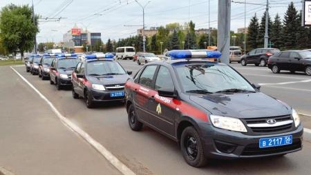 Передвижение воинских колонн по дорогам Московской области!