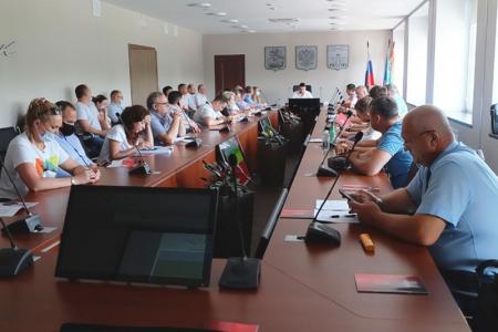 Ход ремонта подъездов обсудили в Красногорске!