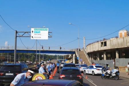 Дорожные полицейские провели профилактическое мероприятие «НольАлкоголь».