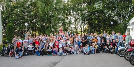 Байкеры нескольких мотоклубов посетили Центр реабилитации и образования №7.