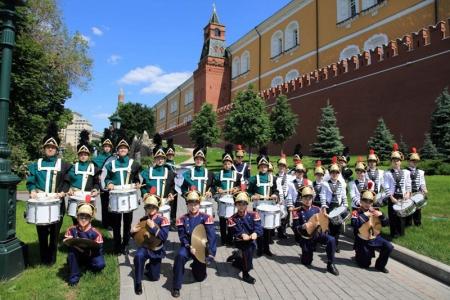 «Знаменские барабанщики» из Красногорска выступят на конкурсе в Крыму.