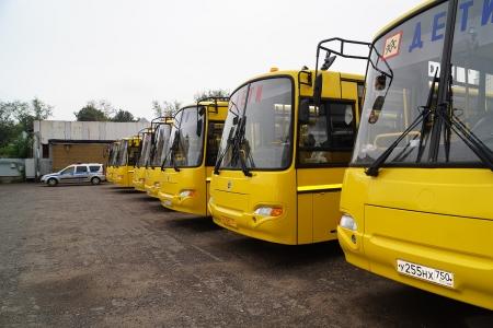 Госавтоинспекция Московской области контролирует организованные перевозки групп детей.