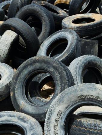 Жители Московской области сдали порядка 6500 автомобильных покрышек на МегаБак.